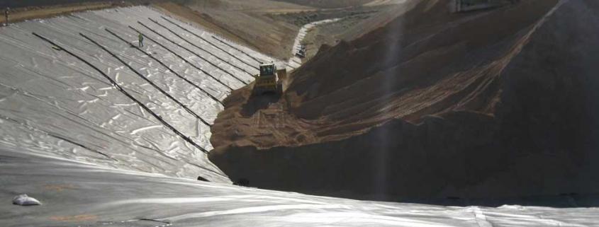 تاریخچه ی ژئوممبران در صنعت معدن