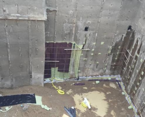 ایزولاسیون گود ساختمان