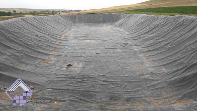 ایزولاسیون استخر کشاورزی کوراییم ژئوممبران