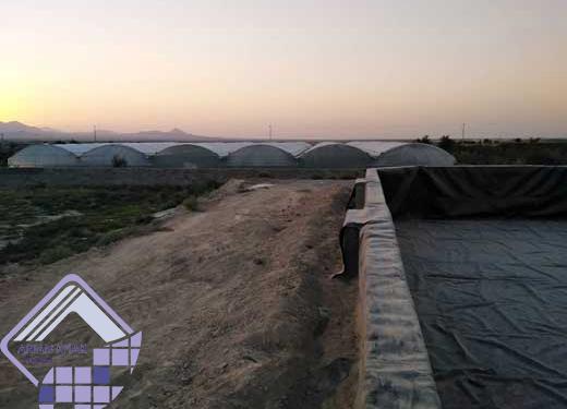 ایزولاسیون استخرهای کشاورزی با ژئوممبران